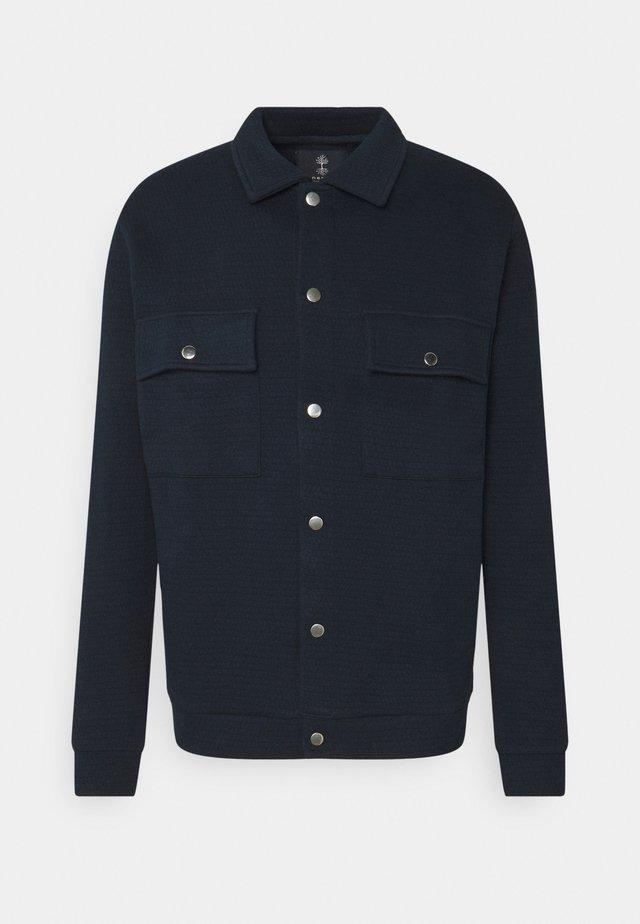 Kardigan - navy blazer
