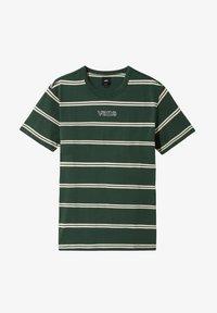 Vans - MN SIXTY SIXERS STRIPE - Basic T-shirt - pine needle - 1