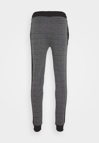 CLOSURE London - CHECKED JOGGER - Tracksuit bottoms - black - 1