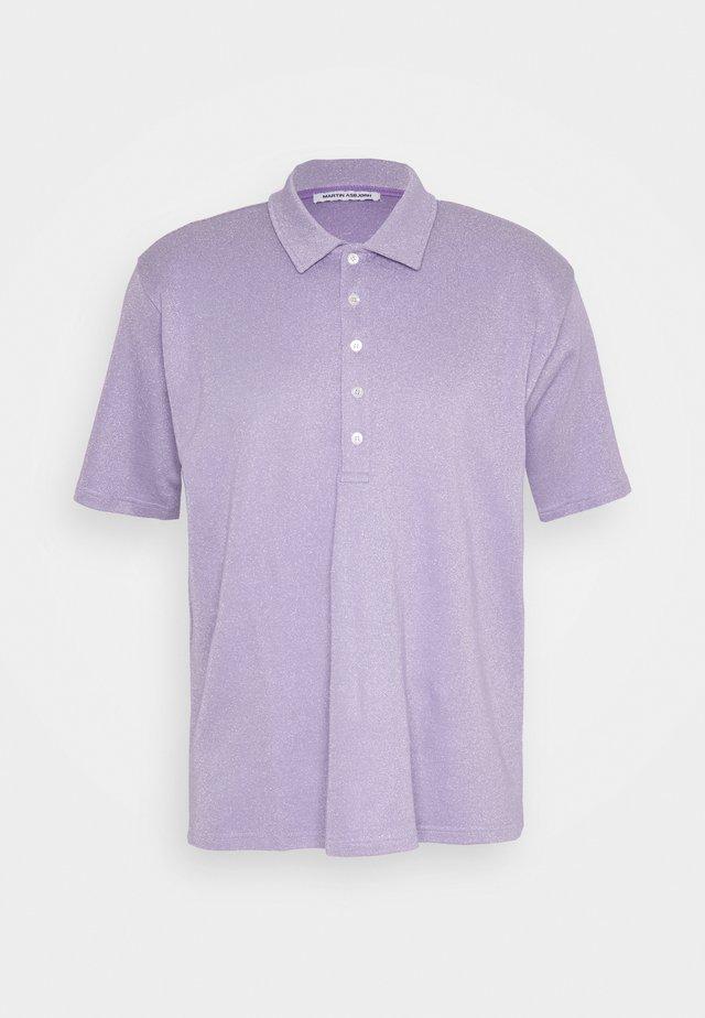 BRENT OVERSIZED - Koszulka polo - purple haze