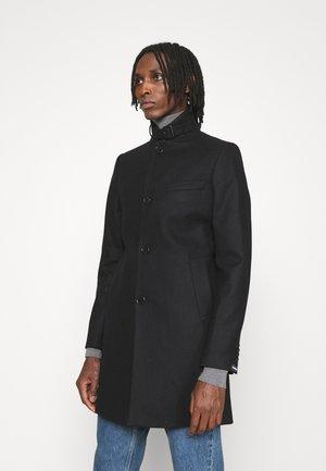 HOLGER COMPACT MELTON COAT - Classic coat - black