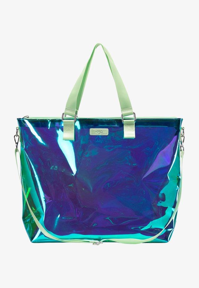 Tote bag - green holo