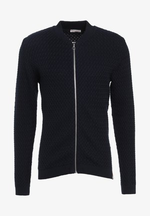 SMALL DIAMOND CARDIGAN - Cardigan - dark blue