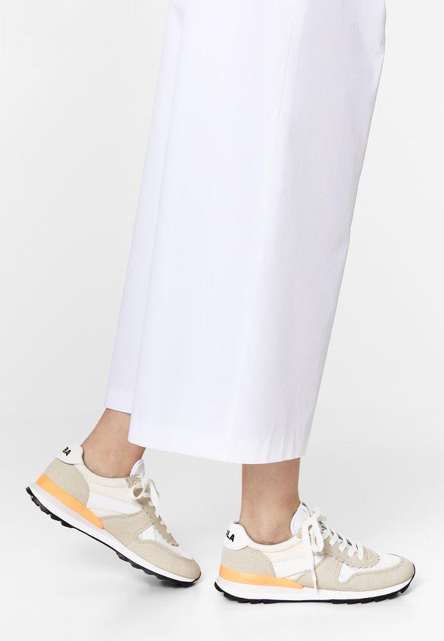 BIMBA Y LOLA NATURAL TECHNICAL SNEAKER - Sneakers laag - white