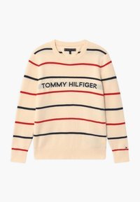 Tommy Hilfiger - STRIPE - Jumper - off-white - 0