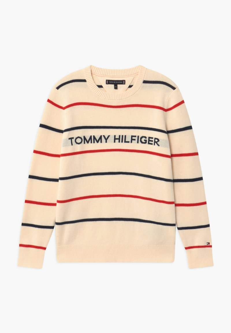 Tommy Hilfiger - STRIPE - Jumper - off-white