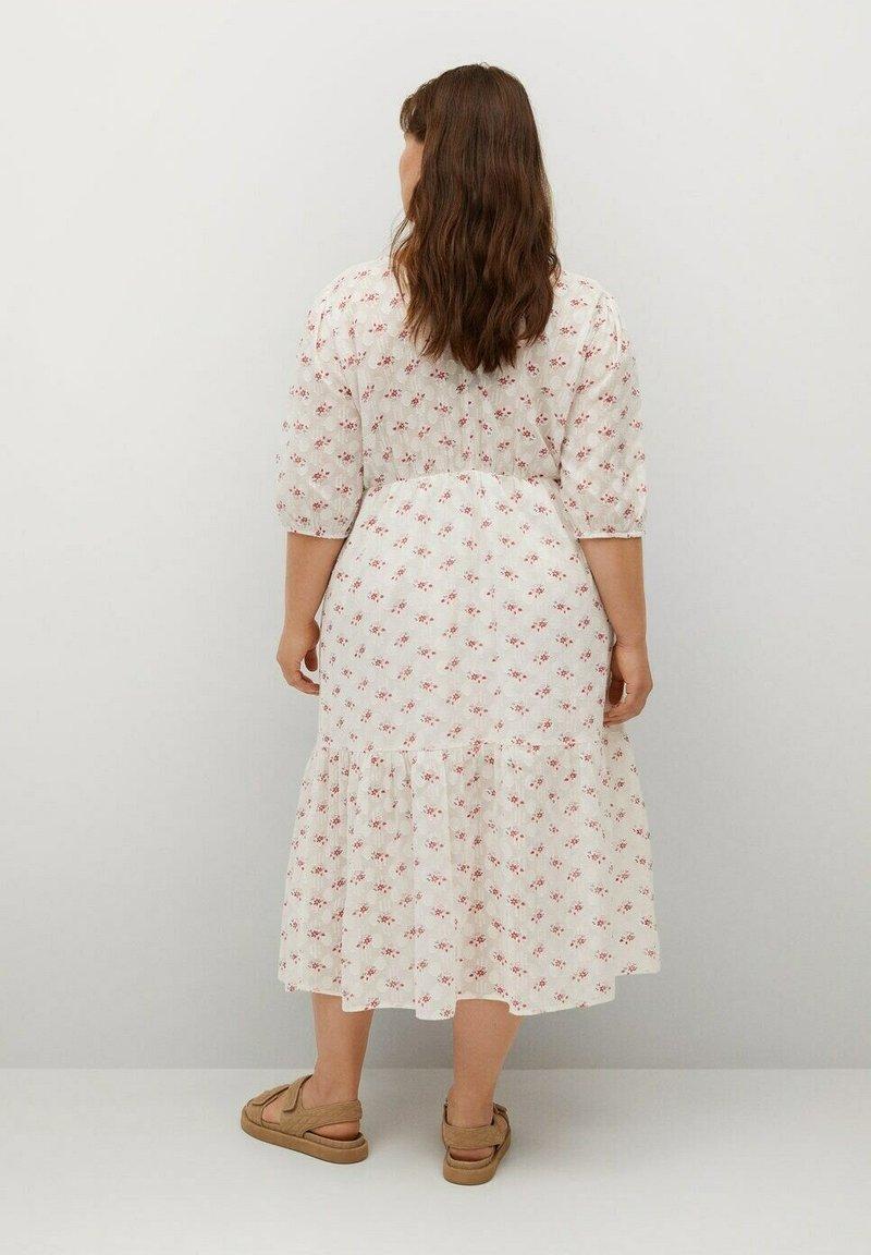 Violeta by Mango - Day dress - blanc cassé