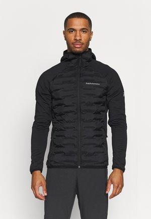 ARGON HYBRID HOOD - Outdoor jacket - black