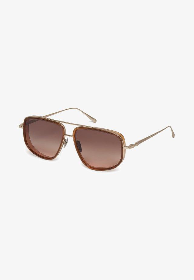 Occhiali da sole - brown / gold