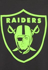 Fanatics - NFL LAS VEGAS RAIDERS NEON POP CORE GRAPHIC  - Club wear - black - 4