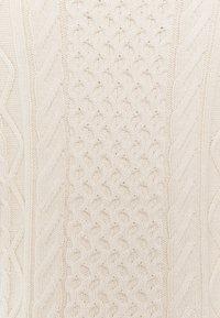 Selected Femme - SLFVICKA CABLE VEST - Print T-shirt - sandshell - 2