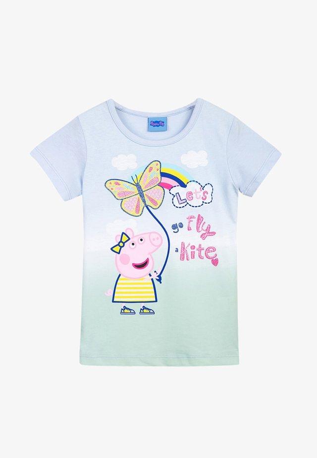 PEPPA PIG - Print T-shirt - halogen blue