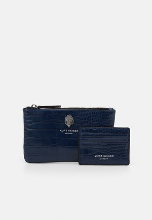 POUCH GIFT SET - Portefeuille - navy