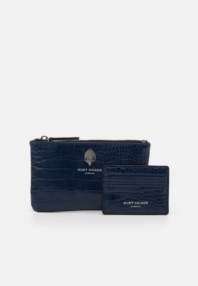 POUCH GIFT SET - Portemonnee - navy