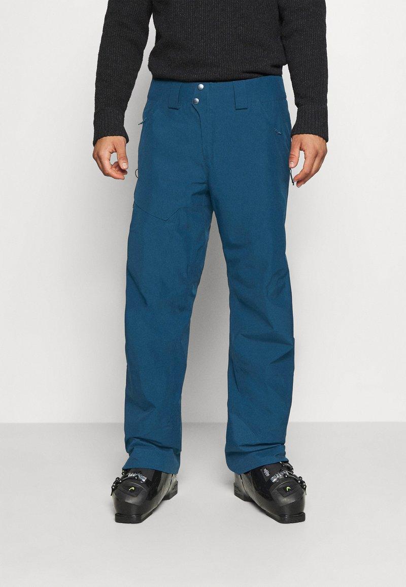Patagonia - POWDER BOWL PANTS - Snow pants - crater blue