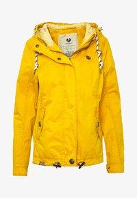Ragwear - RIZZE - Summer jacket - yellow - 4