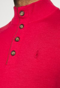 Polo Ralph Lauren Golf - LONG SLEEVE - Svetr - sunrise red heather - 4