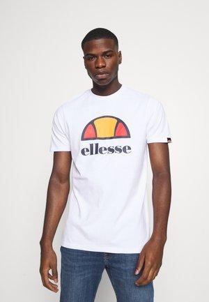 DYNE TEE - Print T-shirt - white