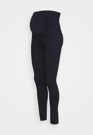 NEO SEAMLESS - Trousers - navy blue