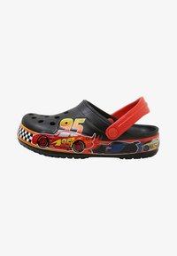 Crocs - FUN LAB DISNEY AND PIXAR CARS  - Pool slides - black - 0
