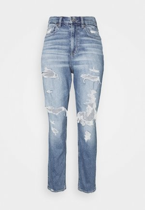 CURVY MOM JEAN - Jeans Slim Fit - blues spark