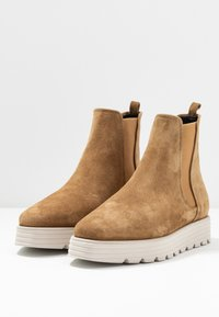 Kennel + Schmenger - LEA  - Platform ankle boots - wood - 4