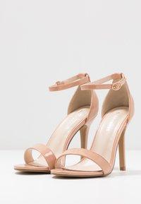 Glamorous Wide Fit - Sandály na vysokém podpatku - beige - 4