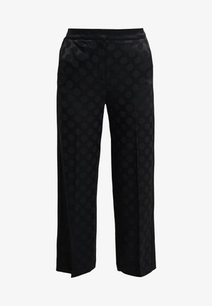TAILORED PANTS - Trousers - black