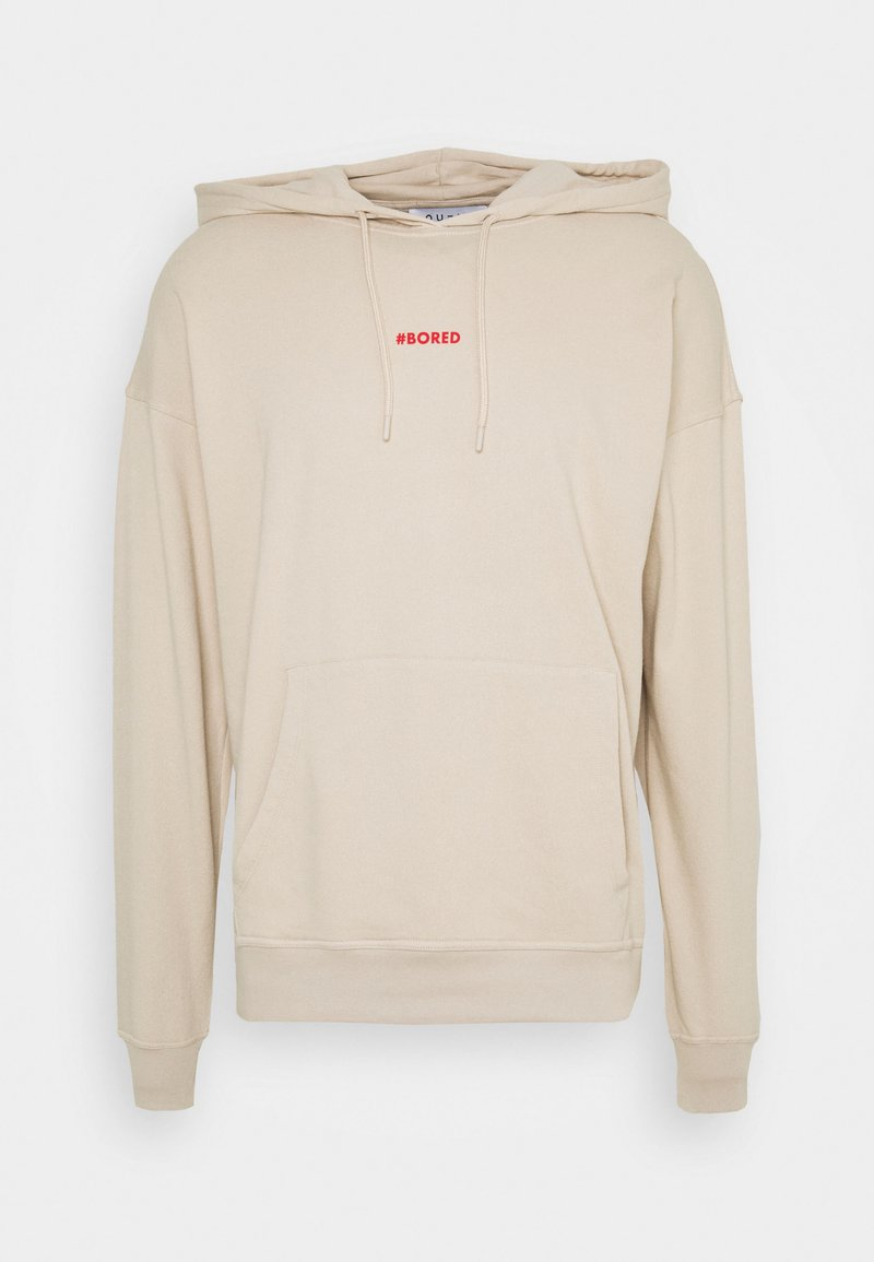 NU-IN - BORED HOODIE - Sweat à capuche - beige