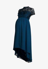 Chi Chi London Maternity - VERONICA DRESS - Vestido de fiesta - teal - 5