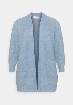 SLFLIA LONG CARDIGAN - Neuletakki - cashmere blue