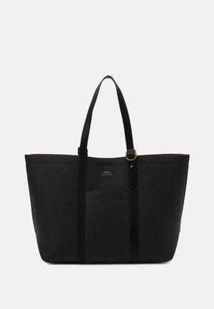 PEBBLED CLASSIC TOTE - Velká kabelka - black