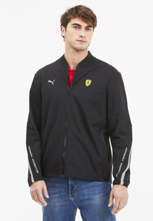 Puma - SCUDERIA FERRARI - Zip-up hoodie -  black