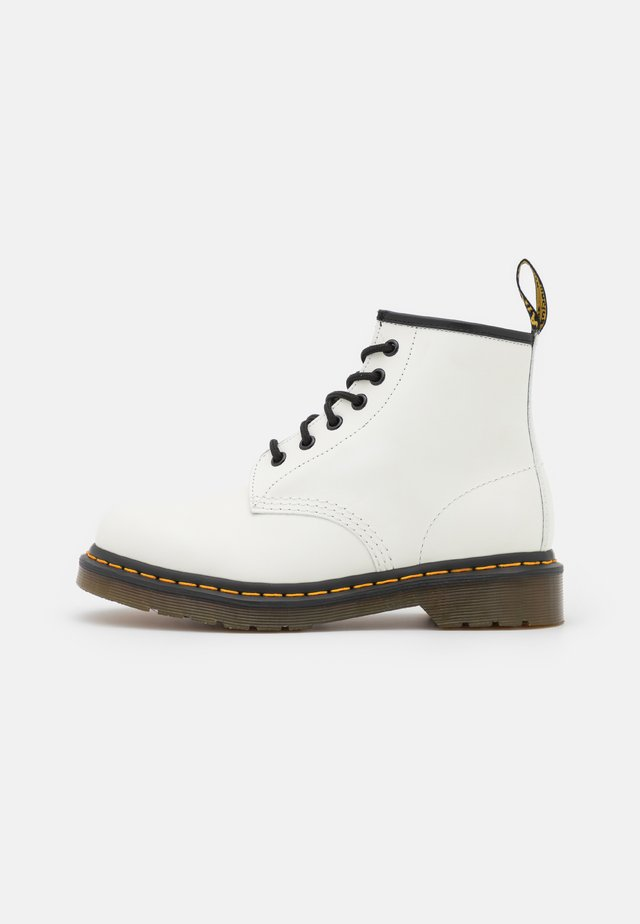 101 STITCH SMOOTH UNISEX - Veterboots - white