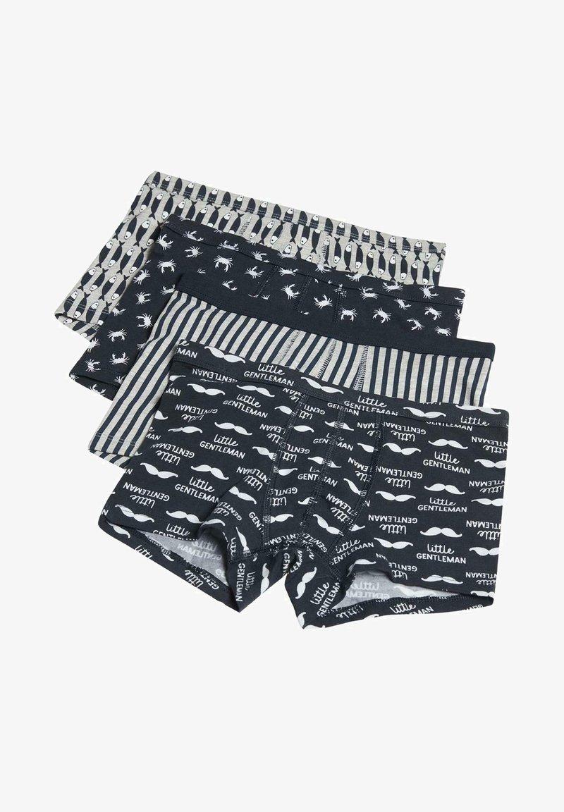 Tezenis - 4 PACK - Panties - sky blue little gentleman print