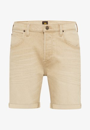 Denim shorts - faded beige
