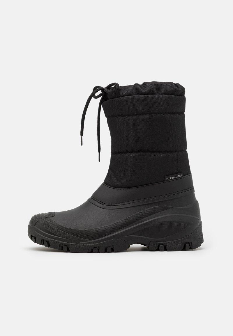Pier One - UNISEX - Winter boots - black