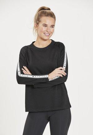 SELLA - Long sleeved top -  black