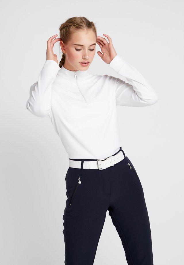 ANNA - Maglietta a manica lunga - white