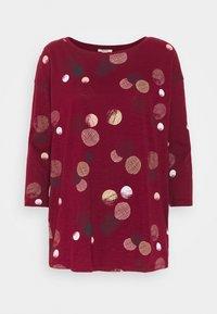 Esprit - CORE - Maglietta a manica lunga - bordeaux red - 0