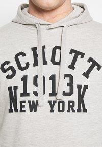 Schott - Hoodie - heat grey - 4