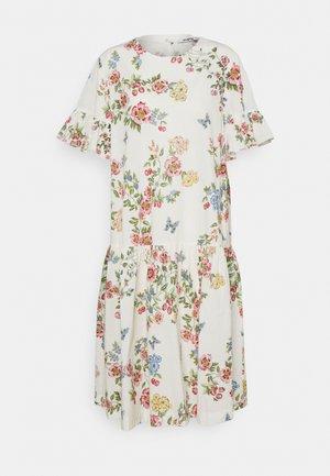 DRESS - Vapaa-ajan mekko - stampa fondo bianco