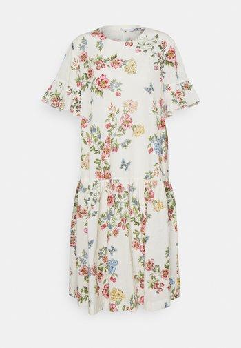 DRESS - Day dress - stampa fondo bianco