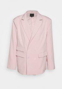 Mennace - SUNDAZE DOUBLE BREASTED SUIT JACKET - Blazer jacket - pink - 0