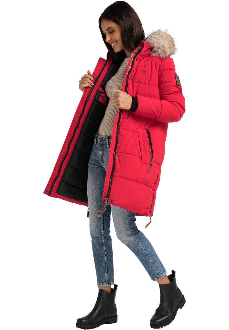 Navahoo - HALINA - Winter coat - red