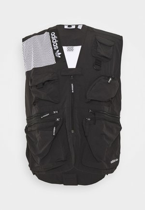 TRAIL VEST - Väst - black