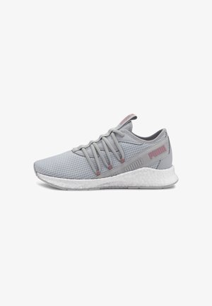 NRGY STAR NEW CORE - Stabilty running shoes - gray violet-foxglove
