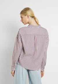 Tommy Jeans - BOXY STRIPE - Košile - white/multi - 2
