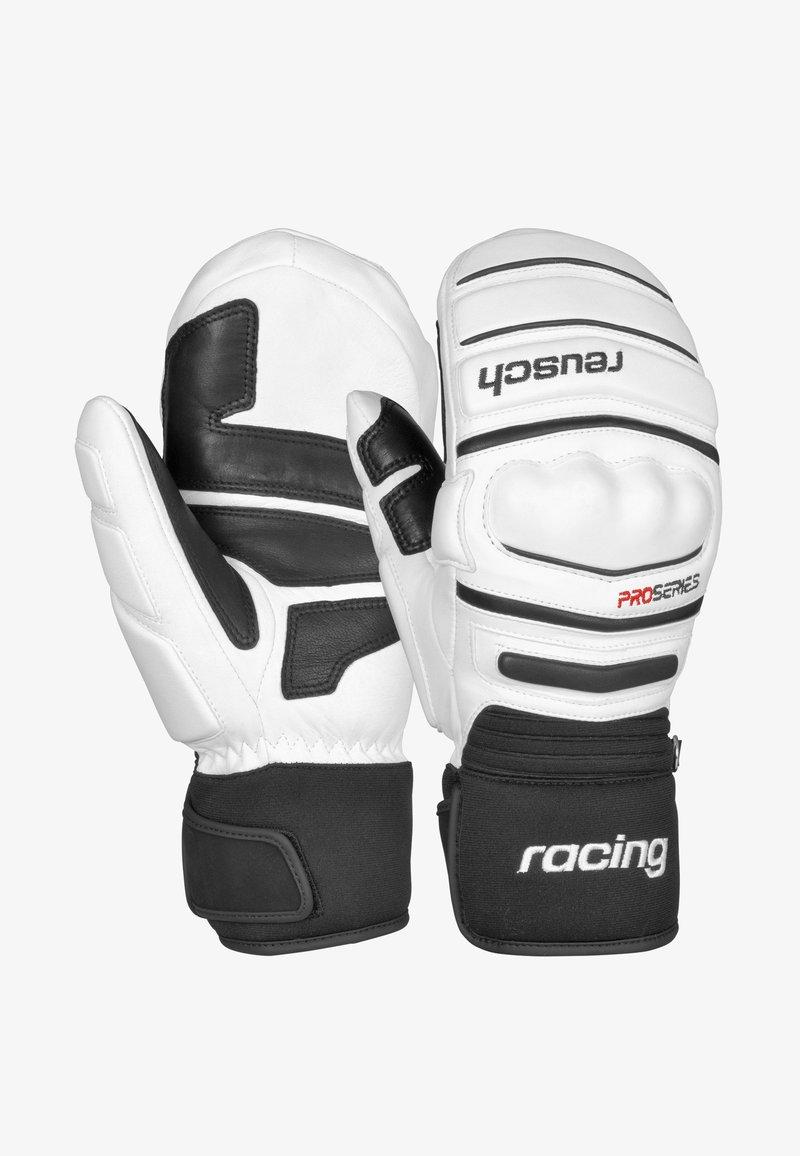 Reusch - WORLD CHAMP  - Mittens - white / black