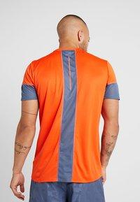 adidas Performance - TEE  - Print T-shirt - orange - 2